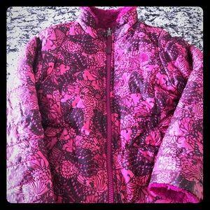 Pink Reversible North Face Jacket!